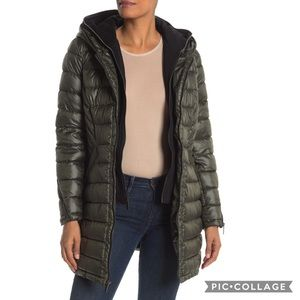 French Connection | Softshell Dickey Insert Puffer
